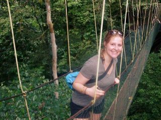 Reisespezialistin Melanie in Malaysia