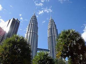 Petrona Towers der Hauptstadt von Malaysia
