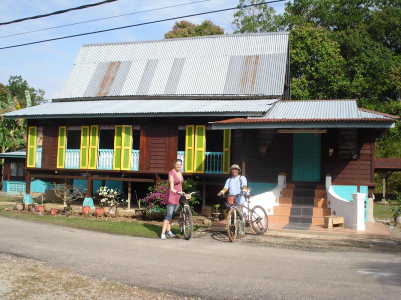 Fahrradtour mit Guide in und um Melaka