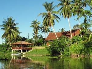 Kota Bharu Kampung Unterkunft am Fluss