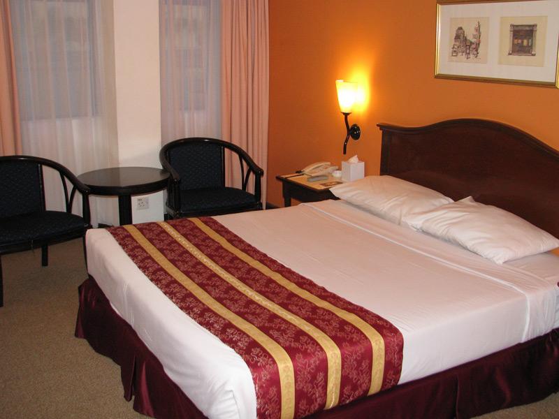 Die Zimmer sind einfach ausgestattet