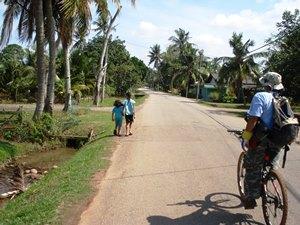 Fahrradtour um Melaka