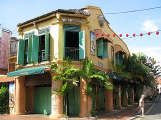 Koloniales Gebäude in der Altstadt von Melaka