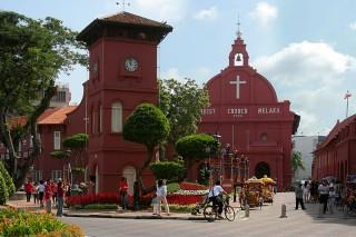 Historische Kirche in Melaka