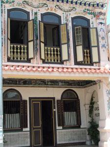 Kolonialhaus in Melaka