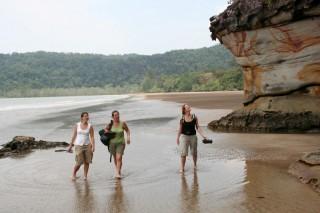 Felsenküste des Bako Nationalpark