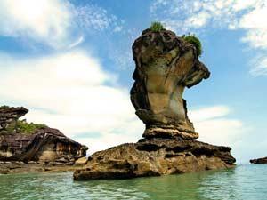 Bizarre Felsen im Bako Nationalpark