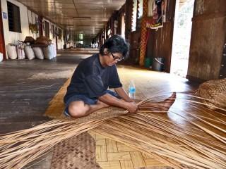 Besuchen Sie den Iban Stamm in Sarawak