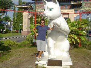 Katze in Kuching