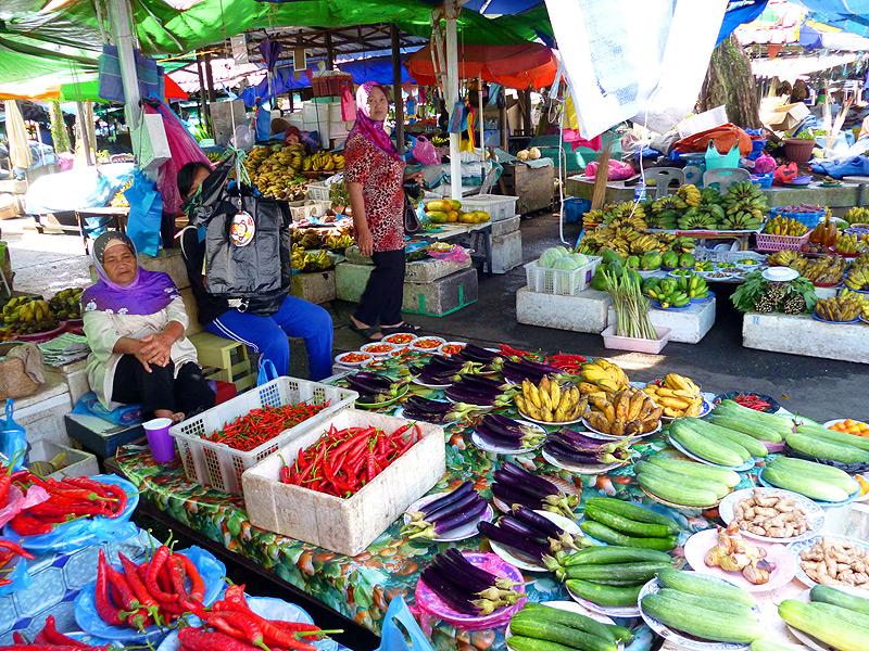Markt in Brunei
