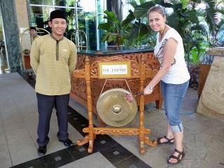 Reisespezialsitin zu Besuch in Brunei