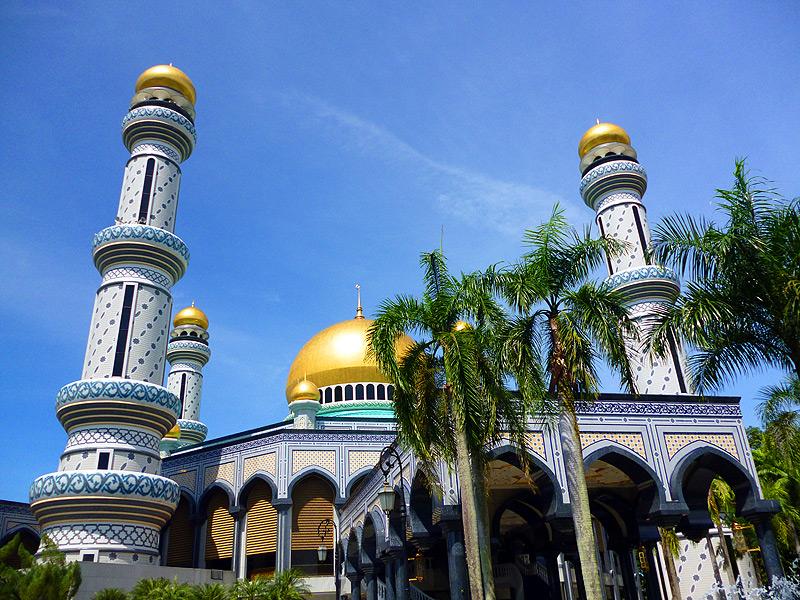 Brunei Reisen: beeindruckende Moscheen erleben