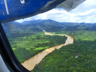 Per Inlandsflug geht es weiter nach Kota Kinabalu