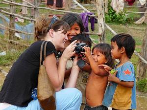 Die Kamera - bester Begleiter auf Reisen für Reiseberichte Borneo.