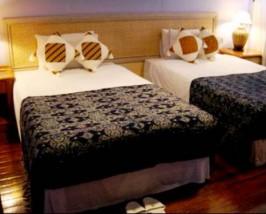 Ein Zimmer in der Lodge
