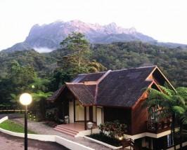 Die Lodge im Kinabalu Nationalpark