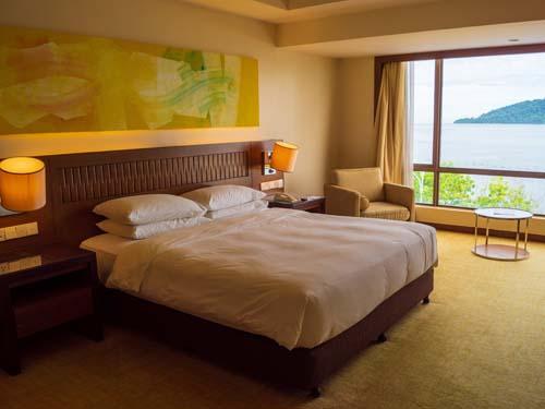 Ihr komfortables Zimmer mit Meerblick