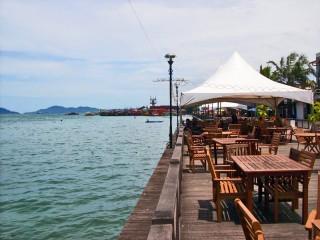 Uferpromenade von Kota Kinabalu