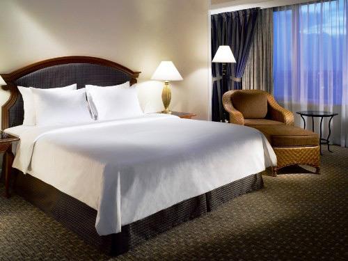 Komfortabel eingerichtete Zimmer