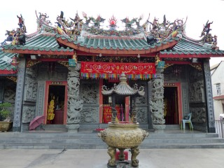 Tempelbesuch in Kuching