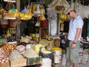 Markt in Kuching