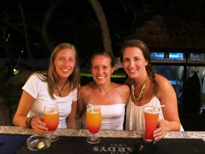 Cocktail in Strandbar - Malaysia Reiseberichte