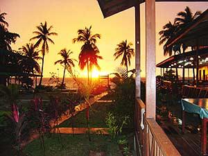 Sonnenuntergang auf Lang Tengah