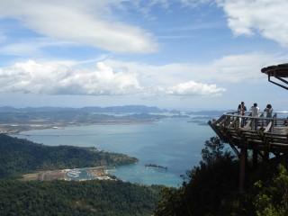 Aussichtspunkt auf der Insel Langkawi