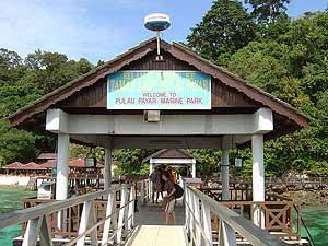 Anlegesteg auf Langkawi