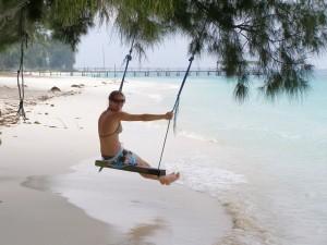 Entspannung pur auf Pulau Lang Tengah