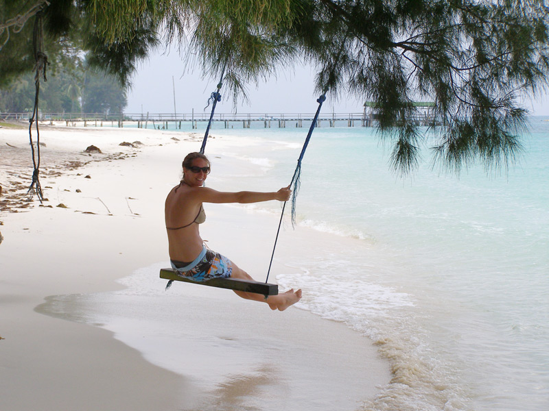 Relaxen auf Lang Tengah
