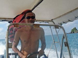 Malaysia Ostküste - Speedboat fahren