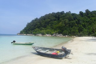 Insel an der Ostküste Malaysias