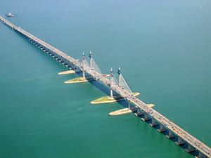 Brücke zur Insel Penang