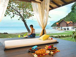 Spa Bereich von Pulau Pangkor Laut