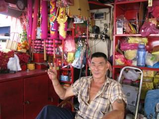 Penang Shopbesitzer