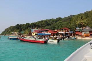 Blick auf Perhentian Island