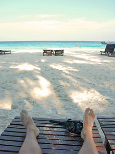 Tropische Insel Lang Tengah und Entspannung