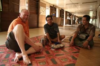 Zu Besuch bei dem Iban-Stamm