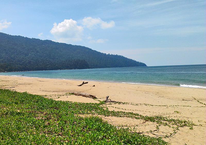 Strand in Tanjung Datu