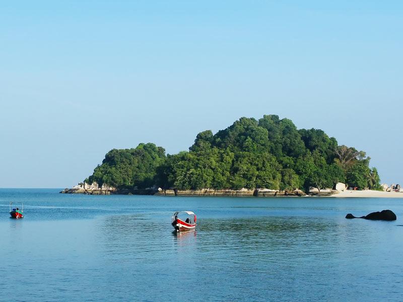 Die Insel Pulau Pangkor Laut