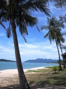 Strand auf einer Insel Malaysia