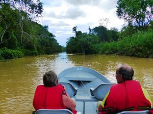 Flusssafari durch den Dschungel nach Sandakan