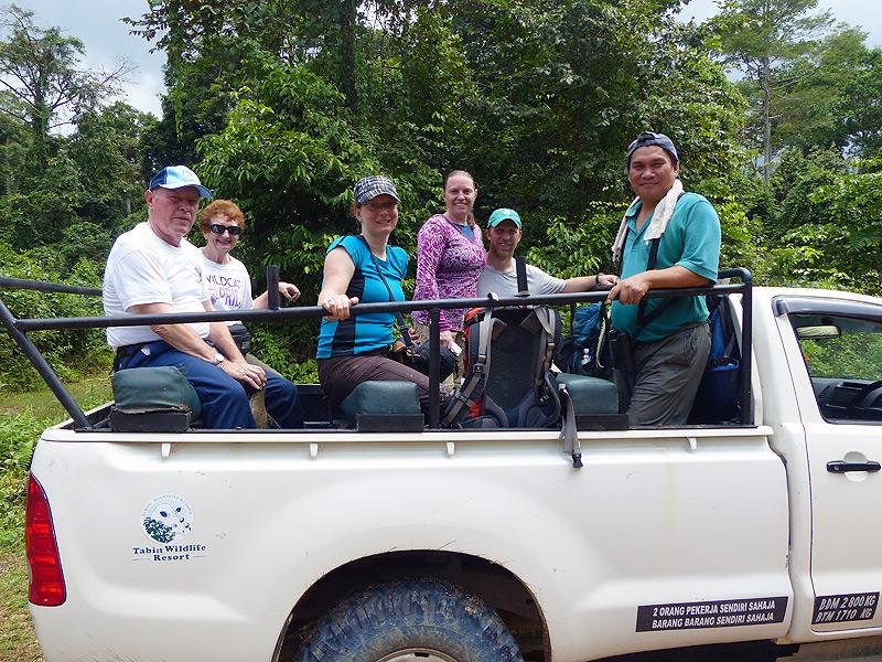Jeepfahrt im Tabin Nationalpark