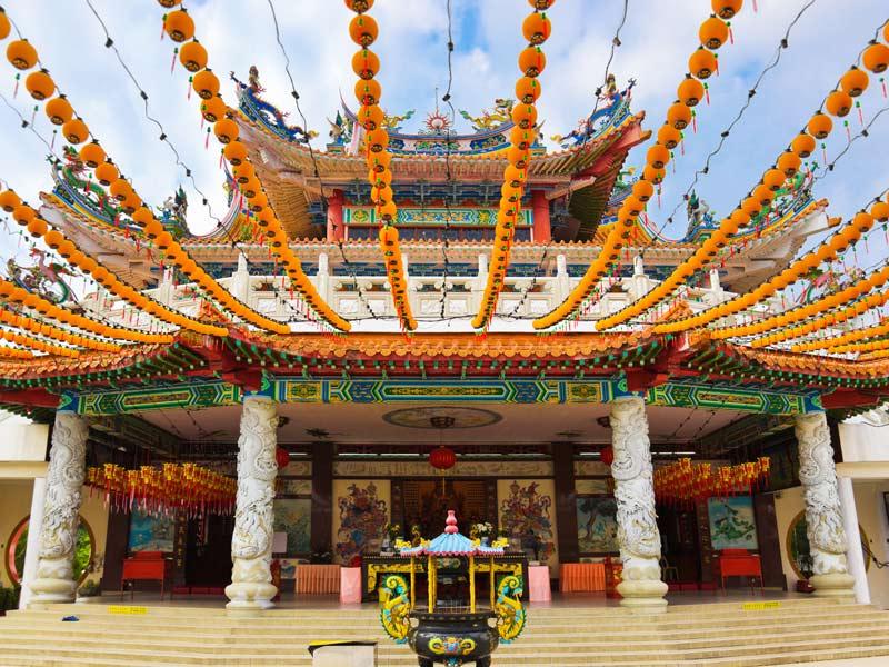 Auf Ihrer Tour durch Penang verschiedene Tempel entdecken