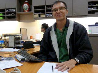 Mitarbeiter unserer Partneragentur auf Borneo