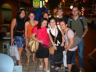 Teamfoto unserer Partner in Malaysia