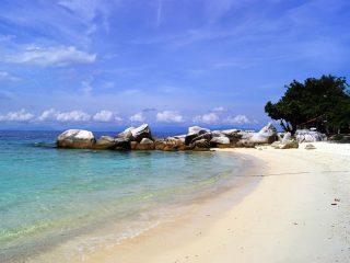 Traumhaftes Meer auf Lang Tengah