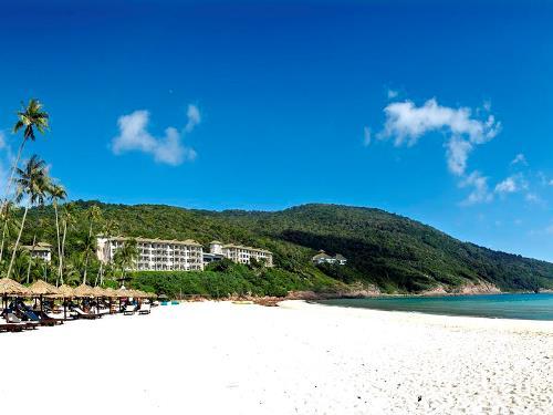 Privater Strand auf Pulau Redang