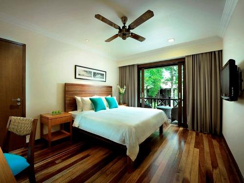 Die Zimmer auf Pulau Redang sind komfortabel eingerichtet